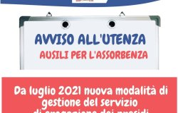 Asl Vercelli: nuove modalità per gli ausili assorbenti per l'incontinenza