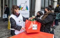 Vercelli: raccolta viveri organizzata dalla Comunità di Sant'Egidio