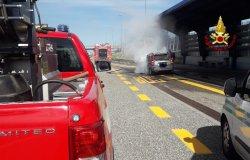 Balocco: si incendia un'autovettura