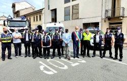 Borgo Vercelli: inaugurato il nuovo mezzo di Protezione civile