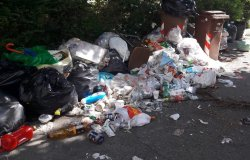 """Vercelli, rifiuti: """"Situazione indecente in via Sabotino"""""""