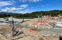 Il ponte provvisorio sarà fruibile dal prossimo mese di novembre