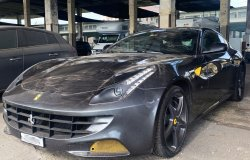 Sequestrata una Ferrari modello FF