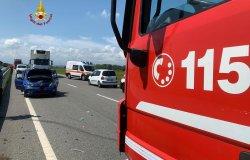 Quattro feriti in un incidente