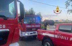 Trino: incendio all'ex Avionics System