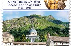 Incoronazione Madonna d'Oropa: emesso un francobollo celebrativo