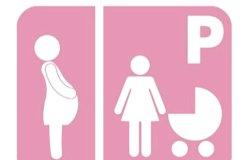 Stalli rosa e multe raddoppiate a chi occupa parcheggi riservati a disabili