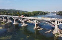 Trino - Camino: proseguono i lavori su Ponte Po