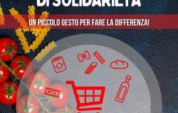 Vercelli: raccolta alimentare della Croce Rossa Italiana
