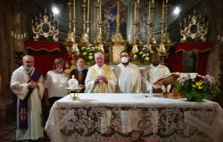 Don Carlo ha celebrato la messa post Patronale