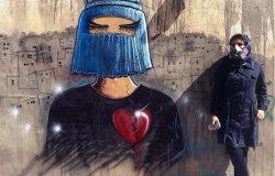Sulle vetrine di StudioDieci le opere di Shamsia Hassani