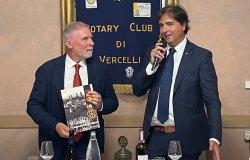 Il rettore Upo Gian Carlo Avanzi ospite del Rotary Club Vercelli