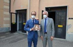 Vercelli: il prefetto Parente in visita alla Questura