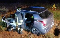 Villarboit: frontale tra due auto, un ferito in codice rosso