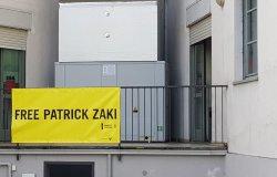 Vercelli: alla Camera del lavoro esposto uno striscione per Patrick Zaki