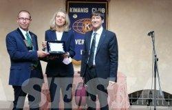 Vercelli: il premio Kiwanis consegnato alla Camerata ducale