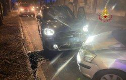 Vercelli: incidente in corso Italia, una persona ferita