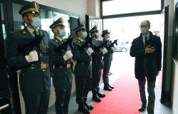 Vercelli: il prefetto Lucio Parente in visita alla Guardia di Finanza