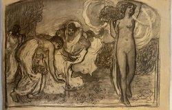 In museo il corpus dei disegni di Leonardo in Bistolfi