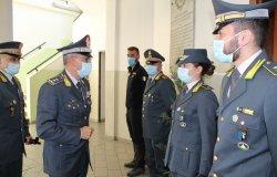 Il comandante regionale della Guardia di finanza in visita a Vercelli