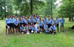 Per il gruppo Scout Santhià 1 giornata al Castello di Vettignè