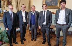 Vercelli: il nuovo ad di Iren incontra il sindaco Corsaro