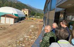 Sopralluogo al cantiere del Milanaccio con il dottor Loro Piana
