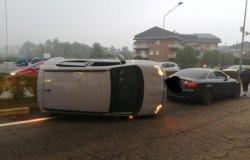Borgosesia: traffico rallentato a causa di un incidente