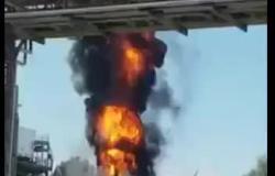 Incendio all'area industriale: spente le fiamme