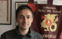Vercelli: Ciro Bolognese è il nuovo comandante dei vigili del fuoco
