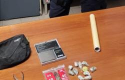 Gattinara: trovato con 15 grammi di marijuana in casa