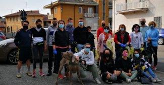 Quinto vercellese: oltre 30 sacchi di rifiuti raccolti dai volontari