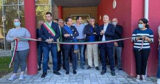 Borgosesia inaugurazione ala liceo Scientifico