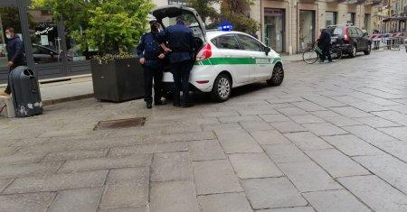 Incidente tra via Dante e corso Libertà