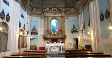 Chiesa Ciudin interno