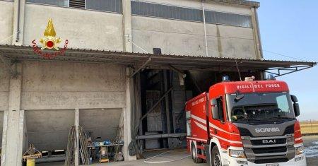 Livorno Ferraris vigili del fuoco
