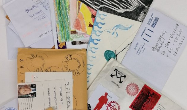 Mail Art Printamaking Vercelli