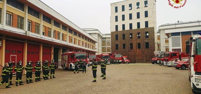 La visita del prefetto al Comando vigili del fuoco: la fotogallery