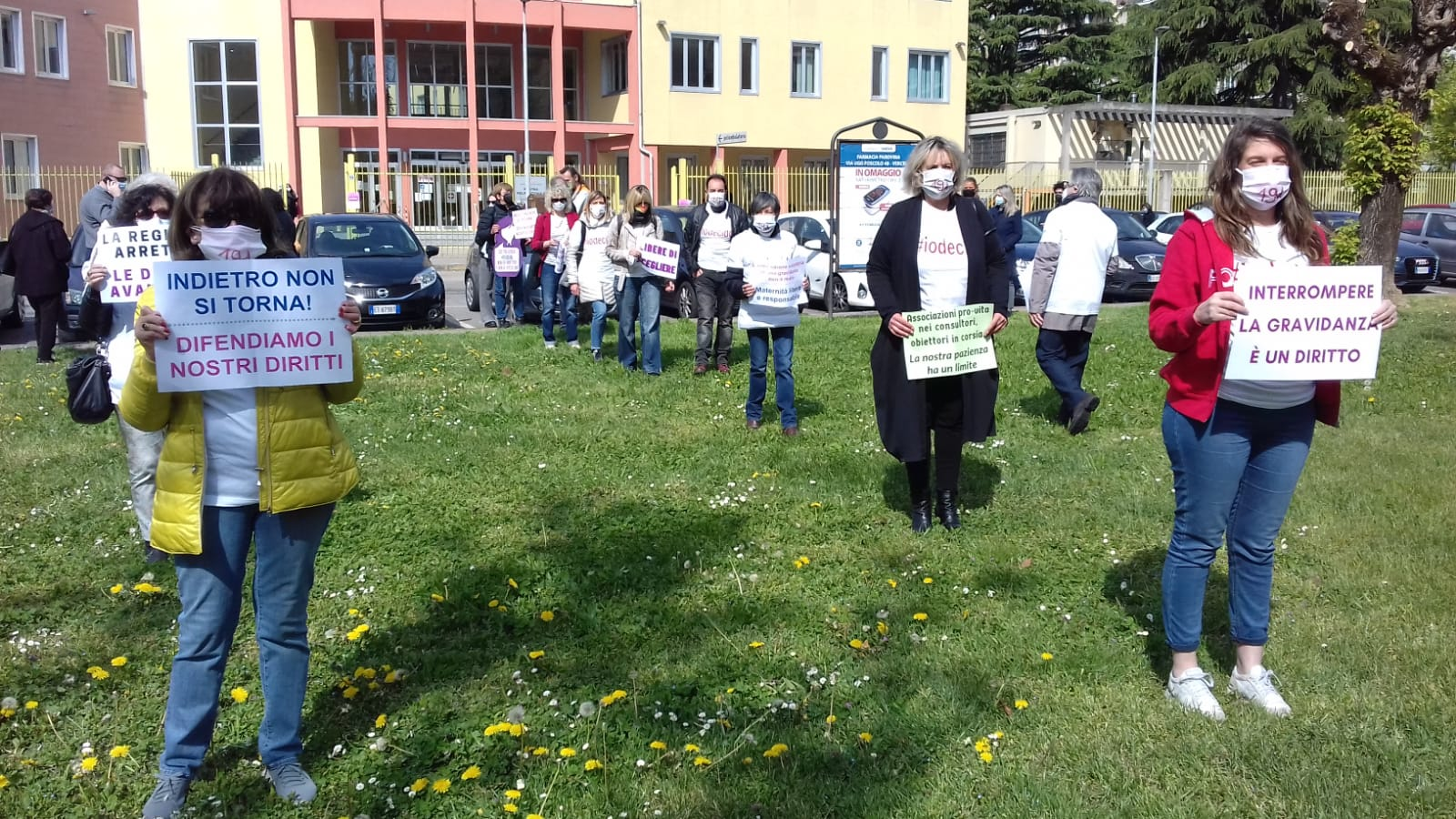 Flash mob Vercelli Cgil