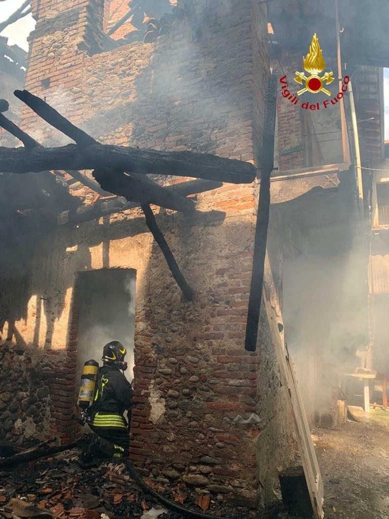 Incendio Gattinara